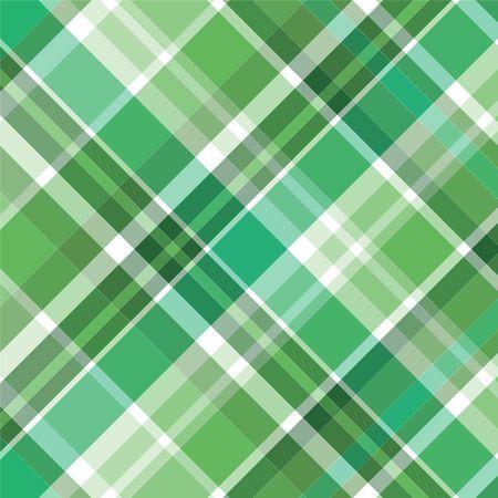 배경 무늬에 대한 녹색 격자 무늬의 일러스트 레이션