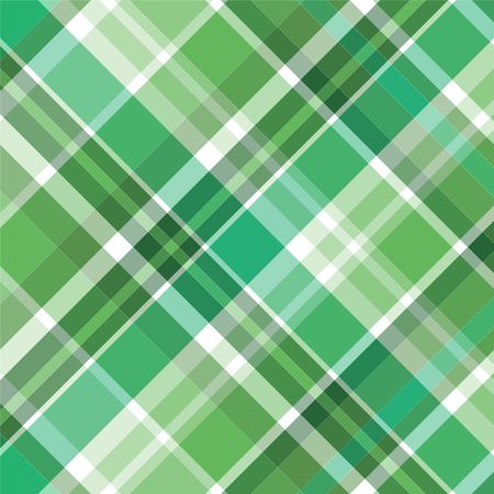 green lines: Illustration of green plaid for background pattern Stock Photo