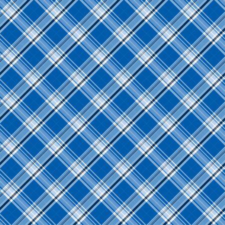 背景パターンとして青い格子縞の図