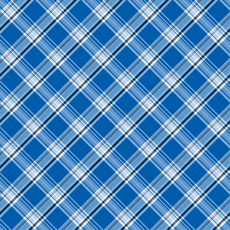 Illustration of blue plaid as a background pattern