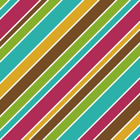 fuschia: Bold Stripes background illustration in fall colors