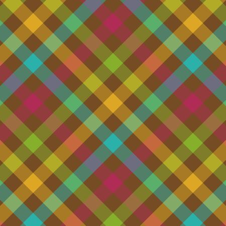 fuschia: Bold plaid background pattern in fall colors