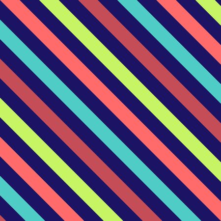 stripe: Bold stripes background illustration in bright colors Stock Photo