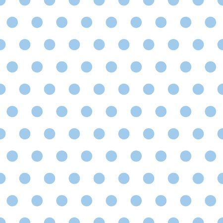 Illustration of small light blue polka dots on white background