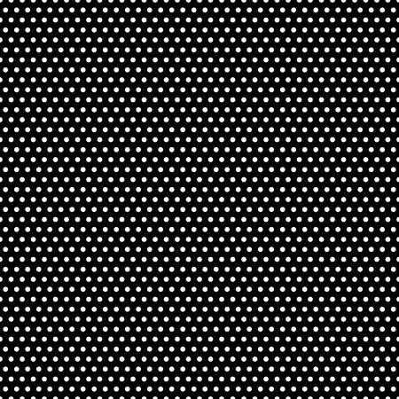 Tiny white polka dots on black background