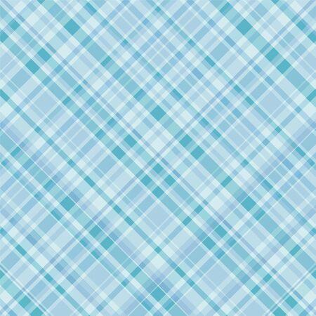 Plaid de fondo en tonalidades de azul turquesa Foto de archivo - 3470519