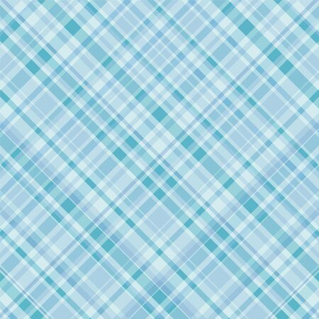 Plaid pattern background in shade of turquoise blue