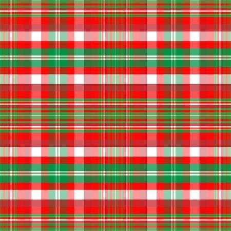 크리스마스 색상의 격자 무늬 배경 무늬 스톡 콘텐츠