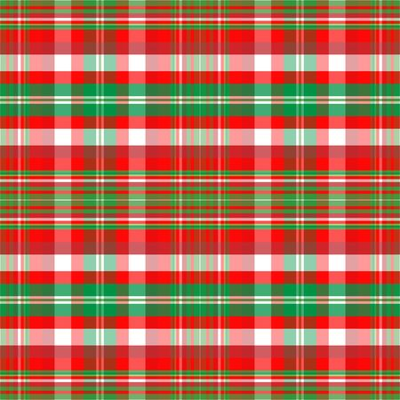 A plaid background pattern in Christmas colors Zdjęcie Seryjne - 3727589