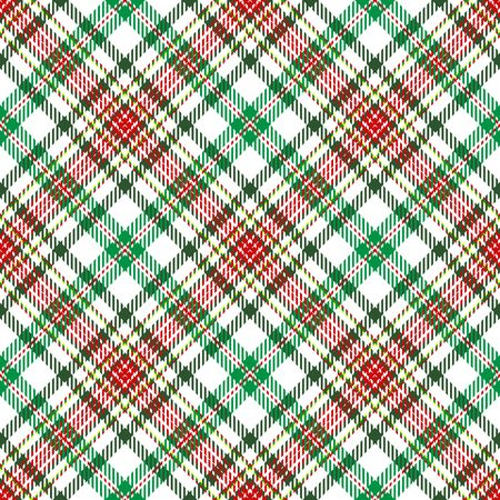 plaid pattern: A plaid background pattern in Christmas colors