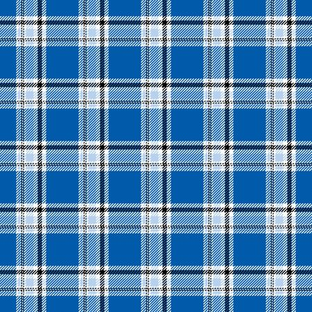 Illustration of blue plaid as a background pattern Stock fotó - 3915670