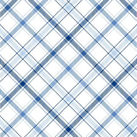 tartan plaid: Plaid background pattern in three shades of blue
