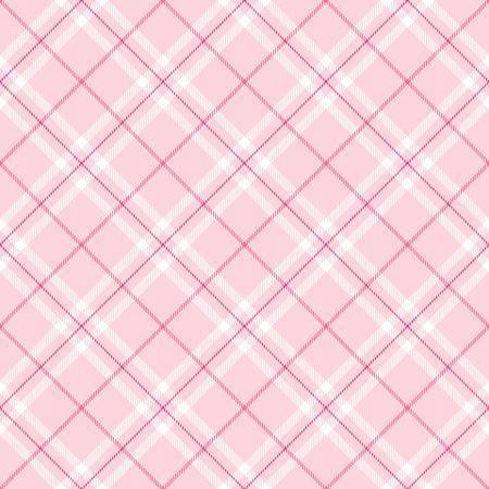 짙은 분홍색과 흰색 줄무늬가있는 연분홍 체크 무늬