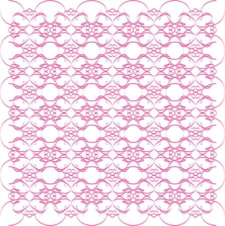 An illustration of a pink swirl pattern Stok Fotoğraf - 3994452