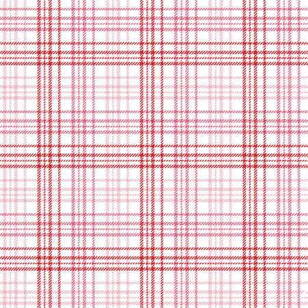 Plaid background pattern in shades of red and pink photo