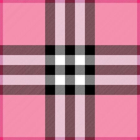 Plaid background pattern in shades of pink 版權商用圖片 - 4098914