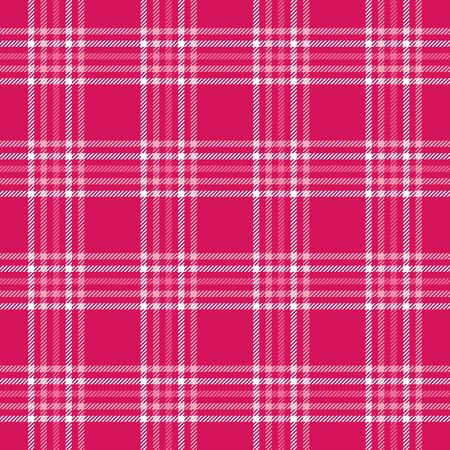 Plaid background pattern in shades of pink photo