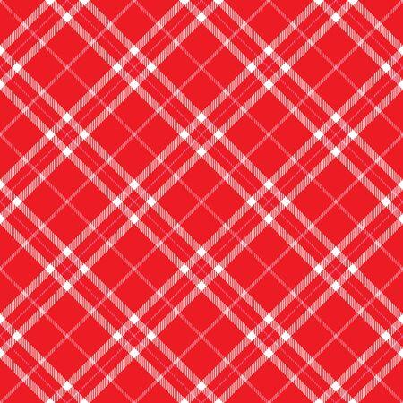 Red Plaid background pattern with pink stripes Zdjęcie Seryjne - 4130409