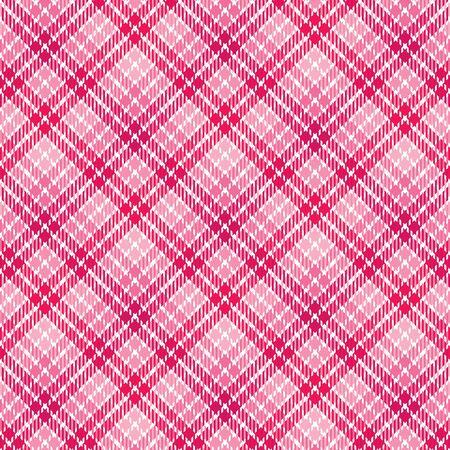ピンクの色合いで格子縞背景パターン