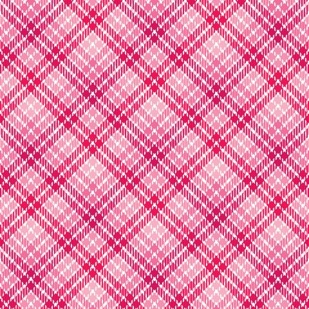 checker: Plaid background pattern in shades of pink