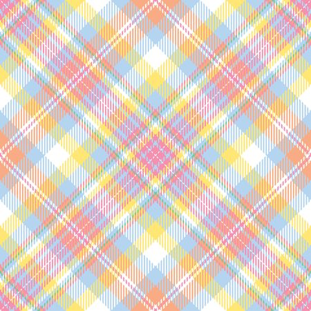 A plaid background pattern in pastel colors photo