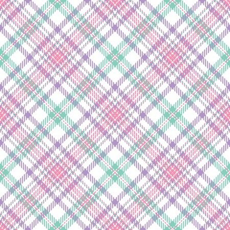 A plaid background pattern in cool pastel colors