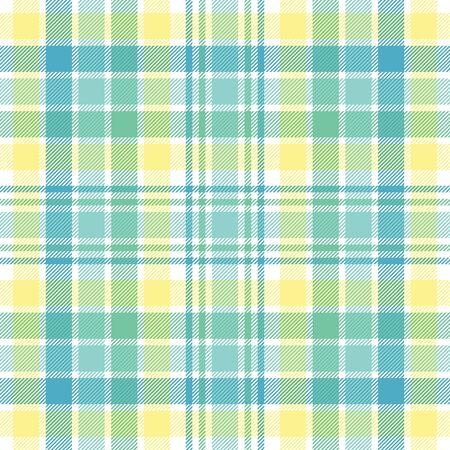 checker: A plaid background pattern in pastel colors Stock Photo
