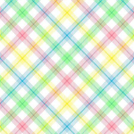 A plaid background pattern in pastel colors Foto de archivo