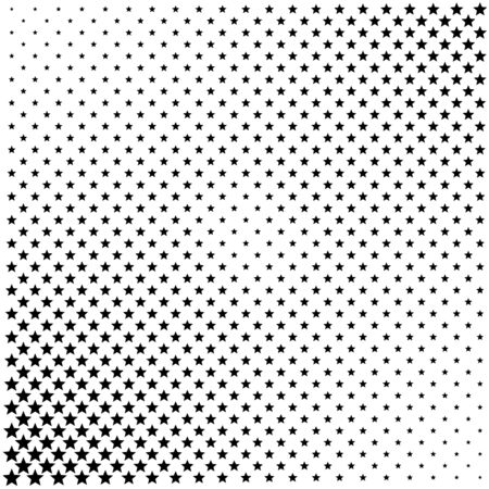 Black and gray halftone dots background illustration Stok Fotoğraf