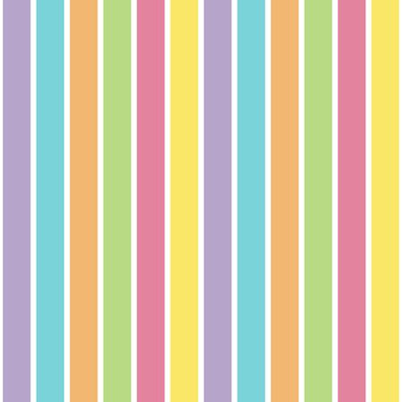 An illustration of a pastel stripe pattern illustration