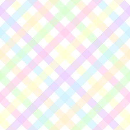 An illustration of a pastel plaid pattern Stock Illustration - 7141171