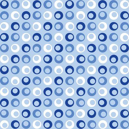 青と白のレトロなドットを探しての背景イラスト 写真素材