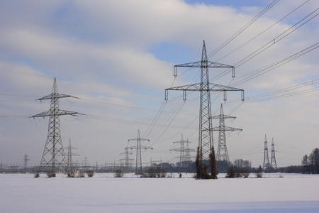 electicity in winter photo