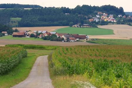The little villages Hartenricht and Neukirchen near to Schwandorf in Bavaria Stock Photo - 10190444