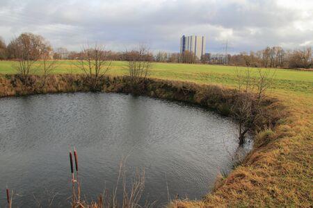 little pond near to schwandorf in spring photo