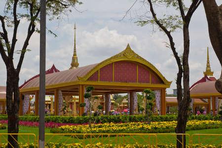 king palace: The Wat Phra Kaeo next to the King Palace in Bangkok