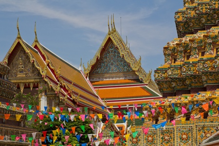 The Wat Pho in Bangkok, Thailand photo