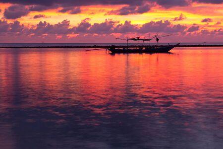 Sunset at Chaweng Beach, Koh Samui � Thailand  photo