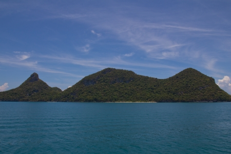 Little Islands at the Ang Thong Marine National Park photo