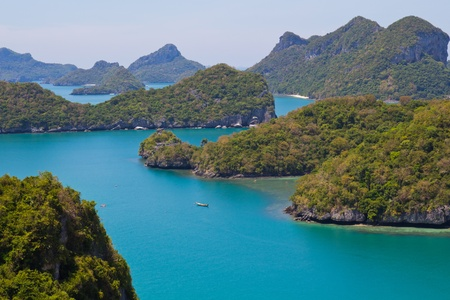Little Islands at the Ang Thong Marine National Park Stock Photo - 13900207