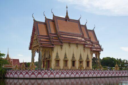 Wat Nuan Na Ram in Koh Samui, Thailand  photo