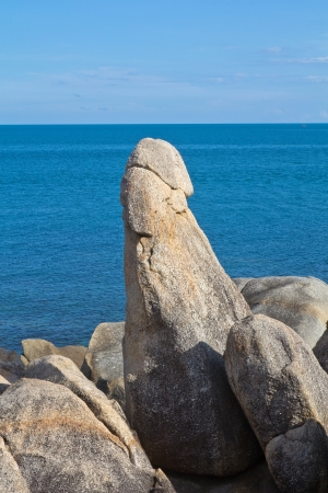 penis: The Grandfather Rock in Koh Samui � Thailand Stock Photo