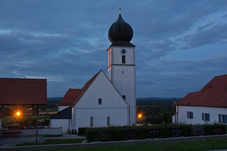 church of Wiefelsdorf next to Schwandorf in Bavaria photo