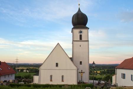 church of Wiefelsdorf next to Schwandorf in Bavaria photo