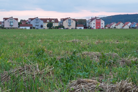 the bavarian village Krondorf near to Schwandorf in summer photo