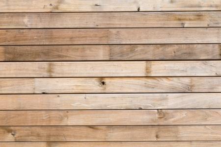 planks on the floor