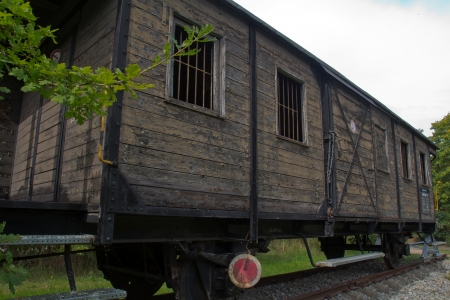 waggon: an old waggon which is not  used any more