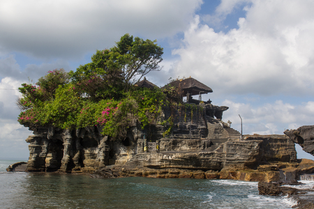 Pura Tanah Lot - temple on Bali, Indonesia  photo