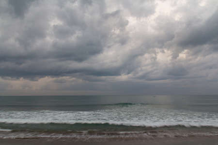 seminyak: nice waves at Seminyak Beach on Bali in the morning