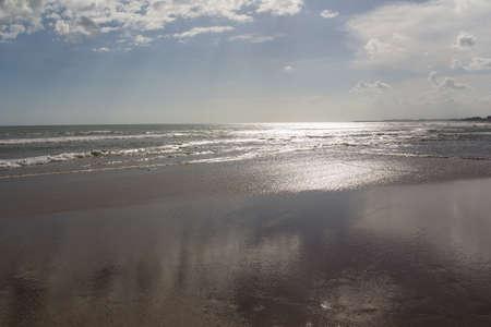 seminyak: The Seminyak Beach on a sunny day